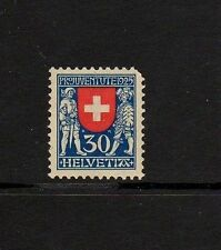 Mint Hinged Single Swiss Stamps
