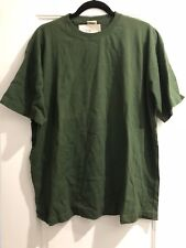 New With Tags Men's Calvin Klein Underwear Large Green Crew Short Sleeve T Shirt
