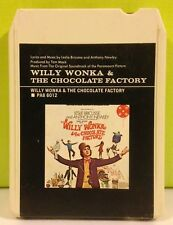 Willy Wonka & The Chocolate Factory Soundtrack Music 8 Track Tape 1971 Ex+ Rare
