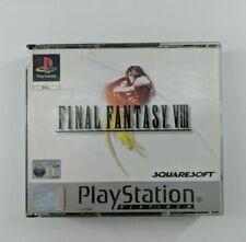 Playstation 1 PS1 Final Fantasy VIII With Manual Platinum Free Post