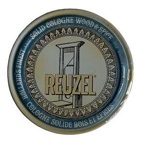 Reuzel Wood & Spice Solid Cologne 35g Sealed - Wax-based - Plane Safe