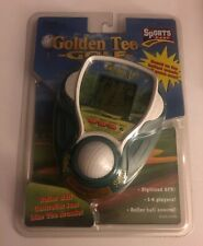 Golden Tee Golf Handheld Electronic Game Sports Games Roller Ball Hasbro Sealed