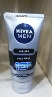 Nivea Men All in One Face Wash   Reduces Acne And Refreshes Skin   50 Gram New