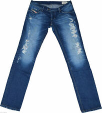Diesel Ripped/frayed L32 Damen-Jeans