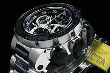 New Invicta Reserve 52mm Subaqua Sea Dragon Swiss Made Chrono S.S Bracelet Watch