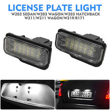 LED Licence Number Plate Light Benz C E CLS SLK Class S203 W211 W219 C219 R171