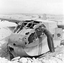 WW2 Photo WWII  German Luftwaffe Glider Western Desert 42  World War Two /6155
