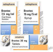 Brontex 15mg/5ml Cough Bronchitis Syrup 100ml
