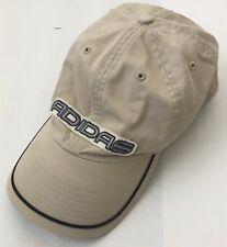 Adidas Beige Metal Strap Dad Hat Cap OSFA