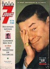 ►Télé 7 Jours 281 (1965) FRANCIS BLANCHE_ALBERT RAISNER_DARIO MORENO_