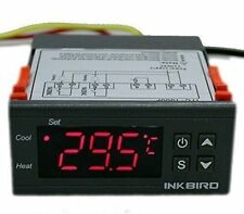 220V Heating Cooling Digital Temperature Controller Thermostat sensor probe