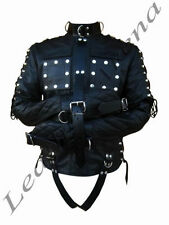 Leather Collared Unbranded Regular Coats & Jackets for Men