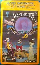 WERTHEIMER – L'OPERA VOLANT- AFFICHE ORIGINALE DE SPECTACLE – PARIS- 1978