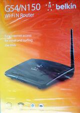 BELKIN G54/ N150 Wi-Fi Router Internet Access  150 mbps  NEW
