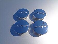 11-17 Chrysler Dodge Jeep New Wheel Center Cap SRT Chrome Set of 4 Mopar Oem