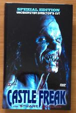 Stuart Gordon's CASTLE FREAK (dvd) HARTBOX Limited Uncut Edition DIRECTOR'S CUT