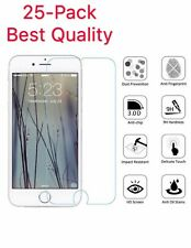 25-Pack iPhone 6 / 7 / 8 Plus Tempered GLASS Screen Protector Bubble Free