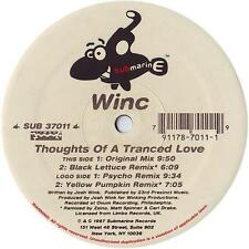 "Winc - Thoughts Of A Tranced Love 12"" Mint- SUB 37011 Vinyl 1997 Record"