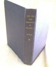 the jew and palestine in prophecy- hc- 1950- m.r. dehaan