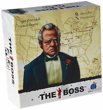 The Boss Card Game Blue Orange Games BOG 02900 Mafia Godfather Organized Crime
