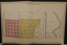 Wisconsin Kenosha County Map City of Kenosha 1924 11-Double Pages  L20#21