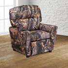 Contemporary Kids Recliner with Cup Holder