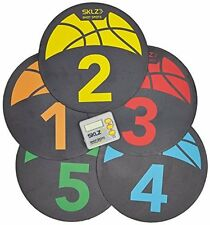 Ground Discs Shot Spotz - Basketball Training Markers w/ Digital Timer by SKLZ