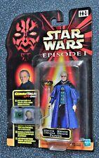 Darth Sidious olografo scuro figura di Star Wars Episodio 1 commtalk Hasbro 1999