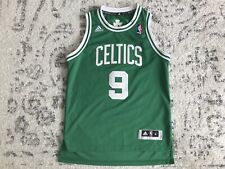 Vintage Boston Celtics Rajon Rondo Swingman Jersey Youth Medium M Adidas MINT