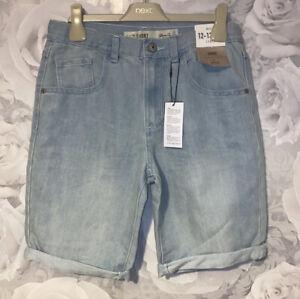 Boys Age 12-13 Years - Denim Shorts BNWT