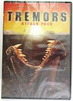 Tremors 1,2,3 & 4 ~ Attack Pack ~ 4 - Movie Film DVD