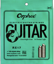 Electric guitar strings 0.10 + 6 Free pick
