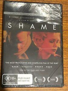 Shame (DVD, 2012) Brand New Sealed Region 4