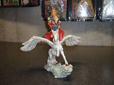 Female Warrior on Pegasus Statue