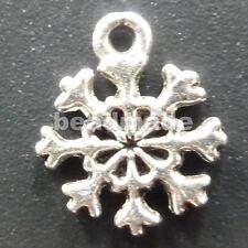 free ship 600pcs tibet silver snowflake Charms 14x11mm