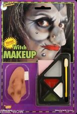 Witch make-up kit with Nose Fancy Dress Costume Accessory water washable
