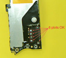 Réparation connecteur batterie iphone 4  soudure repair carte mere  motherboard