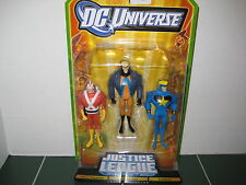 DC Universe  Justice League Adam Strange Animal Man StarMan Three Pack Set