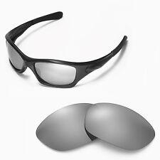 Walleva Titanium Ti Polarized lens for Oakley Pit Bull