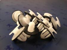 10 agrafes plastiques panneau de porte pour Peugeot 104 205 305 309 405 505 605