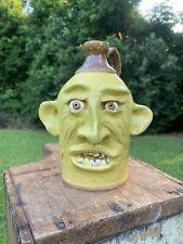 Face Jug - Tim Whitten Pottery