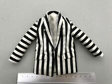 Sideshow 1/6 Beetle Juice Perfect Exclusive  black and white striped suit