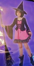 Totally Ghoul Polka Dot Witch Girl's Costume L