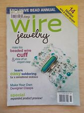 Step-By-Step Wire Jewelry Vol 4 #5~14 Projects~Cuff~Bracelets~Necklaces~Beads