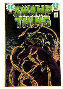 Swamp Thing #8 Signed by Berni Wrightson DC Comics 1972