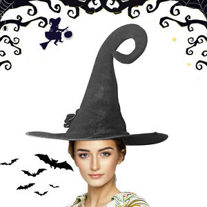 Prom Party Performance Hat Black Magician Hat Witch Hat Headdress Indian Hat