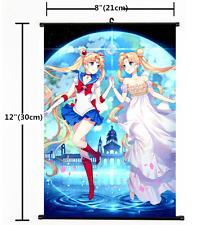 HOT Anime Sailor Moon Crystal Wall Poster Scroll Home Decor Cosplay 1275