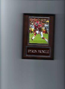 BYRON PRINGLE PLAQUE KANSAS CITY CHIEFS KC FOOTBALL NFL