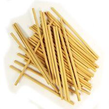 Dowel Sticks    Wooden (Pack of 50) - 15cm x 0.5cm