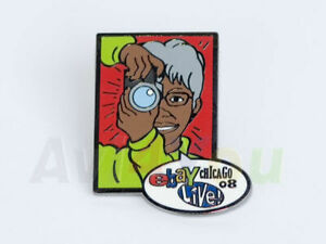 eBay Live 2008 Heroes collectible pin Granny Camera NEW